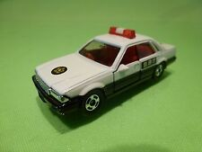 TOMICA 13 NISSAN CEDRIC 4 DOOR RHD  - JAPAN POLICE - WHITE 1:59 RARE - EXCELLENT