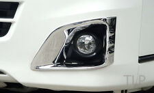 TOYOTA HIACE COMMUTOR CHROME FOG LIGHT LAMP TRIM COVER SURROUND 2011 - 2013 2012