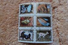 Briefmarkenblock aus Guinea Ecuatorial - Tiere 1
