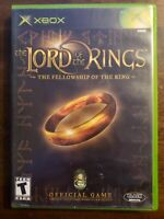 THE LORD OF THE RINGS - XBOX - MISSING MANUAL - FREE S/H-(B12A)