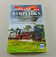 Dampfloks aus Deutschland,Österreich und Schweiz - Buch inklusive Kartenspiel