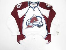 COLORADO AVALANCHE AUTHENTIC AWAY TEAM ISSUED REEBOK EDGE 2.0 7287 JERSEY SZ 52