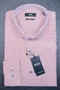 Hugo Boss Men's Mark Sharp Fit Egyptian Cotton Dress Shirt 42 16.5 32/33