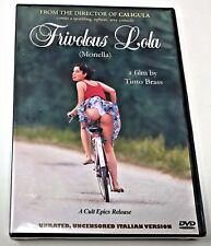 FRIVOLOUS LOLA ~ Tinto Brass Unrated Director's Cut NEW Sealed DVD ITALIAN vers