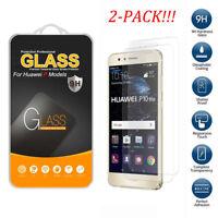 2Pcs Premium Tempered Glass Screen Protector Film For Huawei P8 P9 P10 Lite 2017