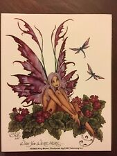"AMY BROWN FAIRY STICKER-15 4""x5"""