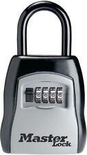 Portable Lock Box Steel Combination Padlock House Door Car Key Safe Storage Dial
