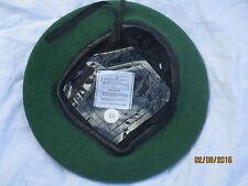 Beret Wool Knitted Cypress Green,Intelligence Corps,Barett grün, Gr. 56,  #WP1