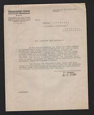 BERLIN, Brief 1931, Telegraphen-Union Internationaler Nachrichtendienst GmbH