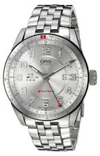 Oris Audi Sport GMT Automatic Stainless Steel Mens Watch Date 747-7701-4461-MB
