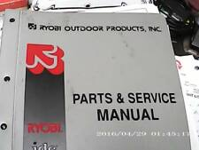Ryobi outdoor Products Parts and Service Manual Binder Trimmers and Blowers