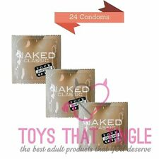Four Seasons Naked classic condoms 24 condoms free shipping