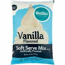 Frostline Vanilla Soft Serve Ice Cream Mix, 6lbs (CB2849)