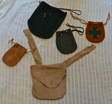 Mix Group of Leather Bags and Pouches