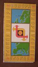 Vintage 1957 SHELL Carte Europe 1: 5 000 000 malrs Geographischer Stuttgart