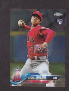 2018 Topps Chrome Update SHOHEI OHTANI Rookie Card RC Logo Angels HOT HMT1