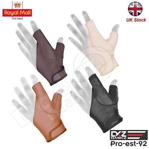 """Archery Bow Gloves Left&Right Hand BLACK,Brown,BEIGE,DARK BROWN """"Brand New"""""""