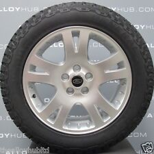 "GENUINE RANGE ROVER SPORT 19"" ALLOY WHEELS+GENERAL GRABBER TYRES,DISCOVERY 3/4"