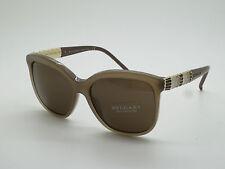 New Authentic BVLGARI 8155 5349/73 Serpenti Beige 57mm Sunglasses