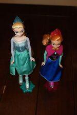 Disney Frozen Elsa & Anna Ice Skating Dolls 12 Inch