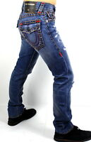 True Religion $299 Men's Ricky Relaxed Straight Super T Jeans - MDA859N22W