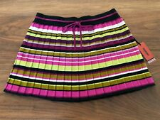 c1b1e59bc1 Missoni for Target Passione Pleated Sweater Mini Skirt Pink Size Medium