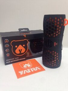 AquaTune Waterproof Speaker Wireless Shower Sound Bar Yatra 12610 Bluetooth HD