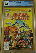 ALPHA FLIGHT #1 CGC 9.6 NM+ 1982 WOLVERINE X-MEN 1ST CANADIAN SUPERHERO TEAM