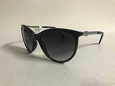 New GUESS Women's Cat Eye Sunglasses GF0307 Fashion Lady Eyewear Black/Gold