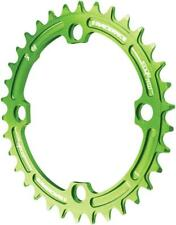 RaceFace Narrow Wide Chainring: 104mm BCD 32t Green
