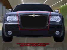 Stainless Steel Black Mesh Grille Grill Upper For Chrysler 300/300C 05-10
