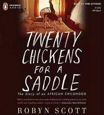 ROBYN SCOTT - TWENTY CHICKENS FOR A SADDLE - PENQUIN AUDIO 8CDS ABRIDGED