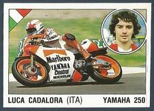 PANINI SUPERSPORT 1988/89- #121-ITALY-MOTOR CYCLING-LUCA CADALORA