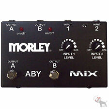 Morley ABY Mix Selector Combiner Switch AB Box Pedal