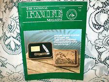 NATIONAL KNIFE 3/1989~SOG TOMCAT~NAVY PILOT SURVIVAL KNIFE~UTICA~SCHRADE DUCKS