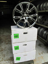 "20"" x 9"" JEEP GRAND CHEROKEE SRT8 STYLE 4 HYPER SILVER WHEELS RIMS 9113"