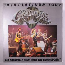 COMMODORES: 1978 Platinum Tour LP (grey vinyl, sm corner bend) Soul