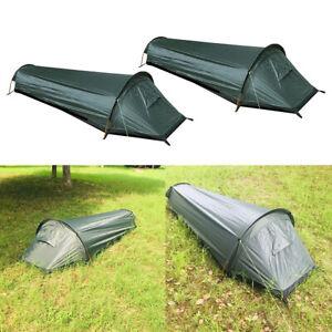 2x Trekkingzelt Campingzelt Zelt, Ultraleichtes und Wasserdichtes Biwakzelt,