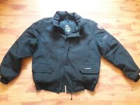 """Canada Goose Chilliwack bomber vintage jacket L-XL, 26.5"""" PTP."""