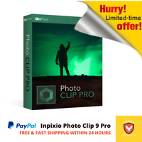 Inpixio Photo Clip 9 Pro⭐5PC⭐Latest Full Version⭐Photo Editor☆ with 5 Serial Key