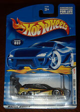 2001 First Editions Hot Wheels  Ford Focus  Card #037   Huge Wing   HW-3