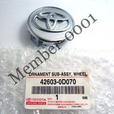 Genuine Wheel Center Cap Ornament for 06-14 Toyota Yaris Corolla Altis Vios