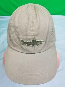 NICE Organic Cotton PATAGONIA Hat Fly Fishing Hiking Kayaking M Strap Trout Dad