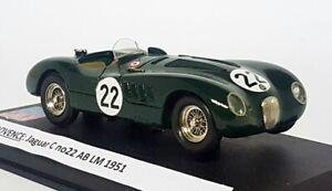 Provence 1/43 Scale Built Kit - Jaguar C Type #22 AB Le Mans 1951 Resin Model