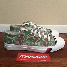 New Pro Keds Royal Lo Low American Green Camo Casual Shoes Limited Size 10