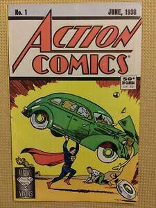 ACTION COMICS #1 50 YEARS!