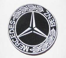 MERCEDES BENZ AUTO embroidered badge Patch 7.5x7.5 cm
