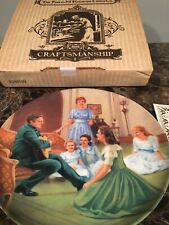"""Sound of Music collectible plate, Coa """"Edelweiss� 5th Plate"""