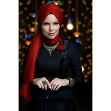 Queen Fertig Kopftuch Mit Fransen Puskullu Esarp Sal Tesettür Hijab Khimar
