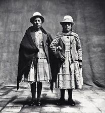 1948 Irving Penn Cusco Peru Female Cholas Christmas Fashion Vintage Photo Art